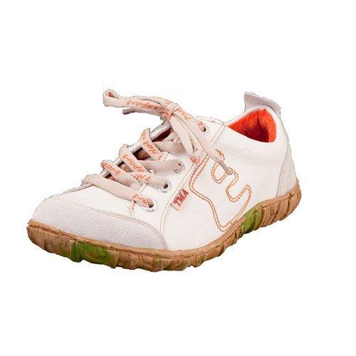 TMA EYES 6636 Schnürer Gr.36-42 mit bequemen perforiertem Fußbett 100% Leder 39.35 super leichter Schuh der neuen Saison. ATMUNGSAKTIV in Weiß Gr. 36