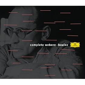 Boulez conducts Webern (6 CD's)