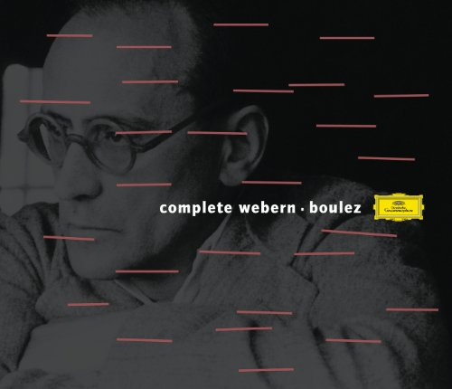 Boulez conducts Webern (6 CD's)