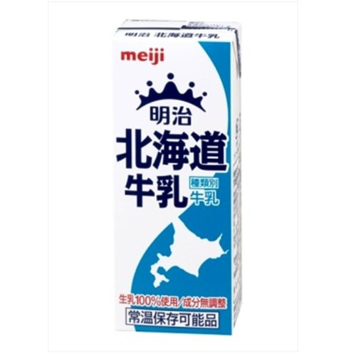 明治 北海道牛乳 【200ml×24本】