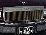 E&G Glassics 1982-1990 Chevrolet Caprice Classic Gold Grille 1026-0121-82