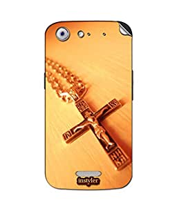 instyler SKIN STICKER FOR MICROMAX CANVAS GOLD A300