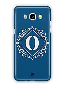 YuBingo Monogram with Beautifully Written letter O Mobile Case Back Cover for Samsung Galaxy J5 2016
