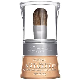 L\'Oreal Paris True Match Naturale Gentle Mineral Concealer, Light/Medium 480, 0.07 Ounce