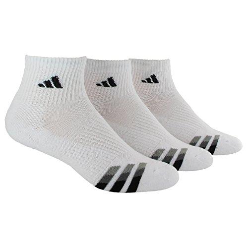 adidas adult single pack sock white