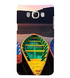 PrintVisa Travel Boats Design 3D Hard Polycarbonate Designer Back Case Cover for Samsung Galaxy On8