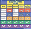 Scholastic 978-0-545-32419-9 Geography Class Quiz - Grades 2-4 Pocket Chart Add-ons