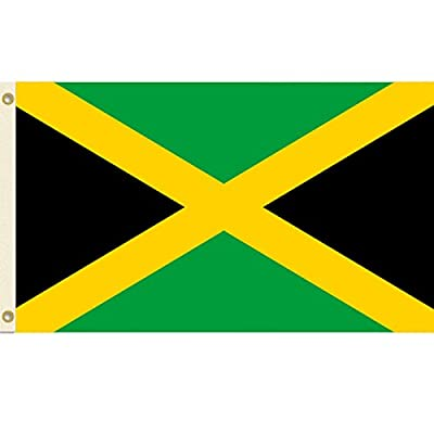 3x5 Jamaica Flag 3' x 5' Jamaican Banner Pennant Indoor Outdoor New
