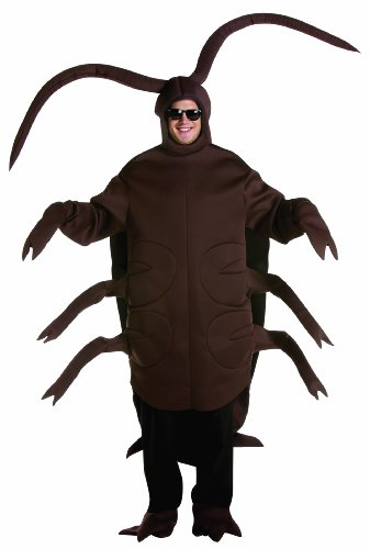 Rasta Imposta Cockroach, Brown, Adult Large/X-Large