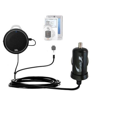 Gomadic Dual Dc Vehicle Auto Mini Charger Designed For The Jbl Charge Micro - Uses Gomadic Tipexchange To Charge Multiple Devices In Your Car