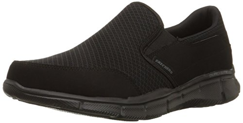 Skechers Sport Men's Equalizer Persistent Slip-On Sneaker,Black,11 M US