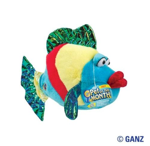 Webkinz Pucker Fish July Pet of the Month - 1