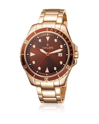 Avalieri Reloj de cuarzo  Rosado / Marrón 44 mm