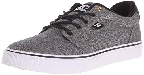 DC Men's Anvil TX SE Skate Shoe, Grey, 12