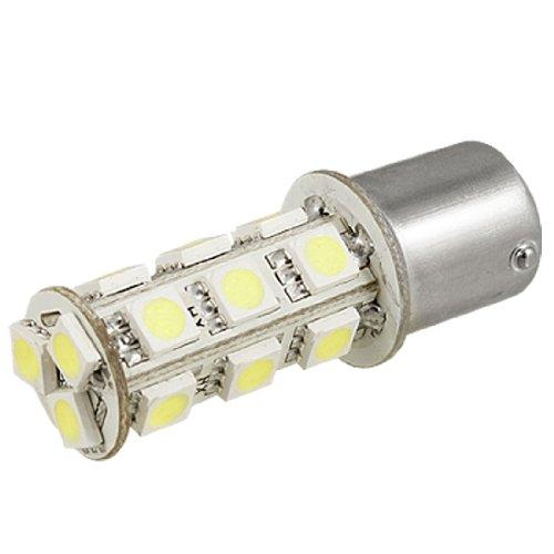 1156 Ba15S Tail Brake 18 Led 5050 Smd Turn Signal Pure Cold White Light Bulb Lamp