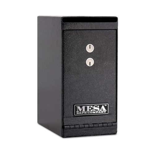 Mesa Safe Company Model MUC1K Undercounter Depository Safe with Dual Key Lock Dark GrayB001D6DG06 : image