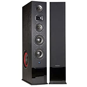 Cerwin-Vega CMX-212 4-Way Powered Speaker (Each, Black)