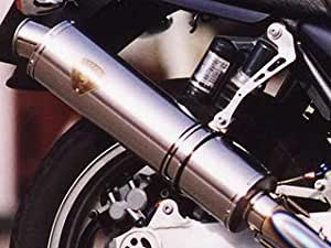 アールズギア(r's gear) スリップオンマフラー ソニック シングル 真円チタン CB400SF/SB Revo (08-) SH10-03TI