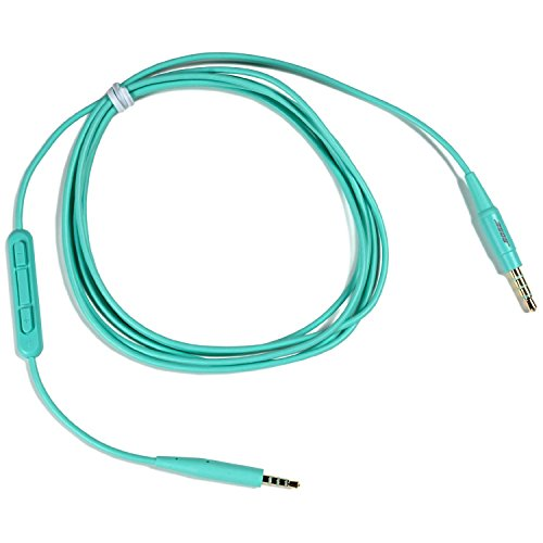 Bose SoundTrue Headphones Inline Mic/Remote Cable, Mint (Bose Headphone Replacement Cord compare prices)