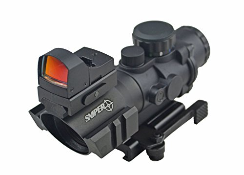 Etched Glass Bdc Reticle Prismatic Scope With Three Rail For Mount Asseccories Shockproof Waterproof Fogproof & Compact Micro Mini Reflex Red Dot