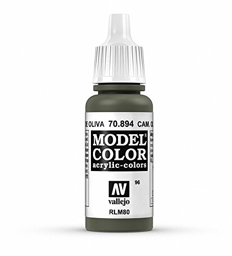 Vallejo Russian Green Model Color Paint, 17ml