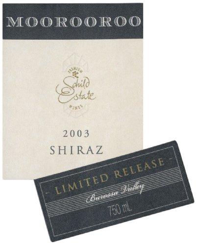 2003 Schild Estate Barossa Moorooroo Shiraz 750 Ml