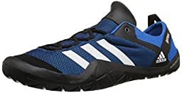 adidas Outdoor Men\'s Climacool Jawpaw Lace Water Shoe, Shock Blue/White/Black, 8 M US
