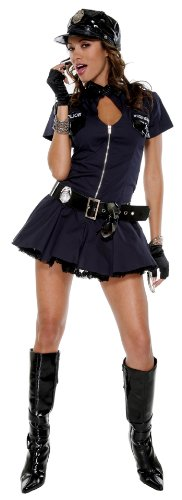 Police Playmate Costume - Medium/Large - Dress Size 6-9