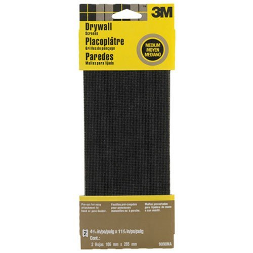 3m-9090na-drywall-sanding-screen-4375-in-x-1125-in-2-sheet-medium-grit