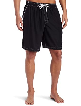 Speedo Men's Marina Core Basic Watershorts, Black, Small