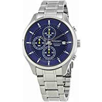 Seiko Chronograph Blue Dial Men's Watch (SKS537)