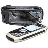 Ledertasche Handytasche mit Gürtelclip für Nokia 1800