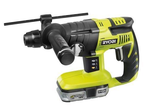 Ryobi CRH18012L SDS Rotary Hammer Drill with 2x1.4Ah Li-Ion Batteries