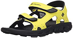 Columbia Youth Techsun Vent Sandal (Infant/Toddler/Little Kid/Big Kid), Zour/Black, 1 M US Little Kid