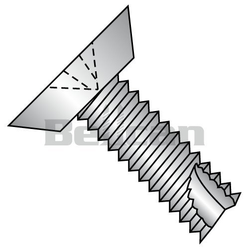 1-1//2 Length Pack of 25 Steel Thread Cutting Screw Pan Head Small Parts 1424FSP 1//4-20 Thread Size Slotted Drive Pack of 25 Zinc Plated Finish 1//4-20 Thread Size 1-1//2 Length Type F