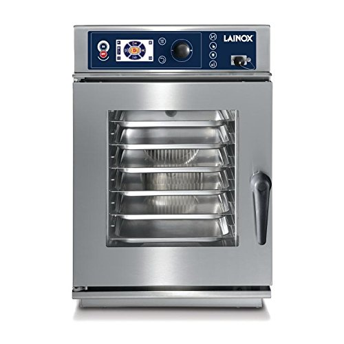 Lainox Heavy Duty Compact 6 x 2/3GN Auto Interactive Cooking Injection Oven 1 Phase Commercial Kitchen Restaurant Cafe