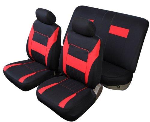 Sitzbezug Schonbezug T 2 rot Citroen AX BX ZX