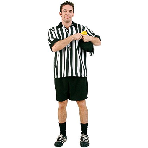 Adult Referee Halloween Costume (Size: Standard 42-46)