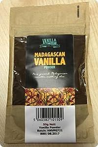 VanillaMart Pure Madagascan Vanilla Powder 50 g
