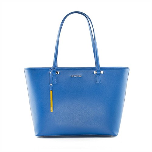 Borsa shopping bag CROMIA Perla 1402634 oceano
