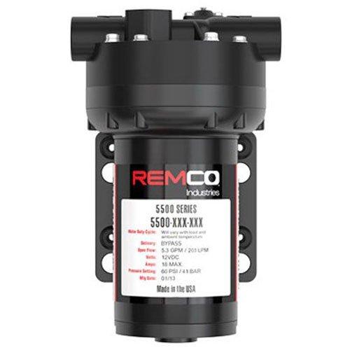 SMV INDUSTRIES 5537-1E1-82B-SB 5.3Gpm 12V Remco Pump