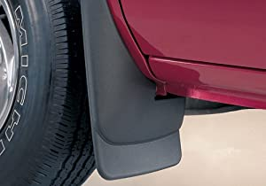 Husky Liners 57821 Husky Custom Molded Mud Flaps - Molded Mud Guards Black - 2pc Rear Set