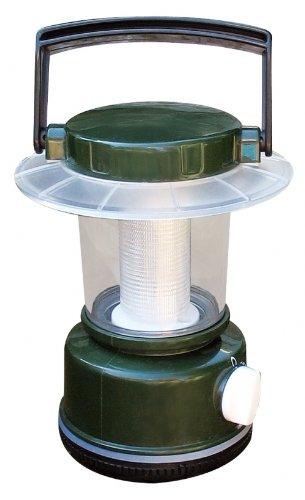 Greatlite 32809 4Aa 12 Led Lantern, Green And Black