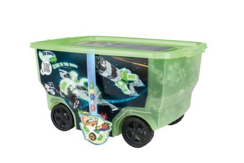 CLICS TOYS Space Rollerbox Toy, 400-Piece by CLICS TOYS