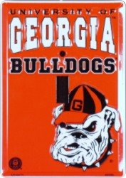 UGA Georgia Bulldogs Metal Light Switch Plate (Uga Bulldogs compare prices)