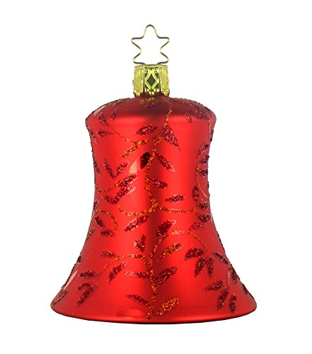 Inge-Glas Crimson Melody Christmas Ornament
