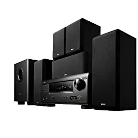 Denon DHT-391XP 5.1 Channel Home Theater System with HDMI 1.4a connectivity and 650-Watt Total System Power (Black)