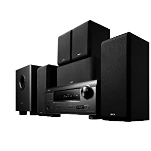 Denon DHT-391XP 5.1 Channel Home Theater System (Black)