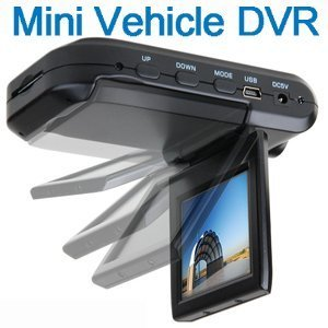 "1509 Cooles neues Gadget In-Car Mounting Mini HD DVR VCR In Car Camera recorder 1280 x 720 Black Box mit 2.5"" TFT Farbbildschirm Car Dashboard Video Camera Cam Accident Recorder support MMC/SD Card Car Recorder - 12 Monate Garantie >>> THT Trade"