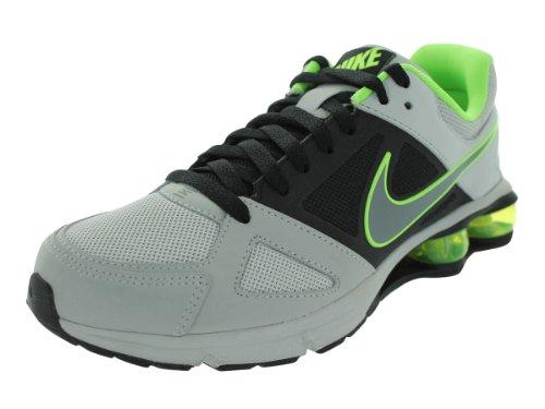 No quiero Trágico Estadísticas  Nike Men s Air Shox 2013 Dusty Grey Cl Grey Blk Flsh Lm Running Shoes 8 5  Men US - cxhgyrtyhcnhfg